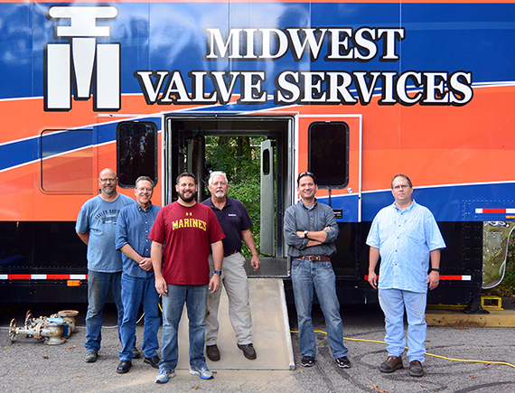 On-Site Expertise to Service Your Valves On-Demand